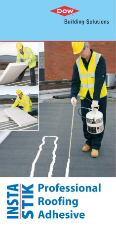 INSTA-STIK Roofing STD: adhesive in a tank