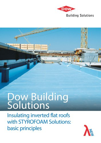 Insulating inverted flat roofs with STYROFOAM Solutions: basic principles