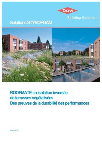 ROOFMATE - Tests performances Toitures Végétalisées