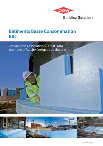 STYROFOAM - Guide Isolation Bâtiments Basse Consommation