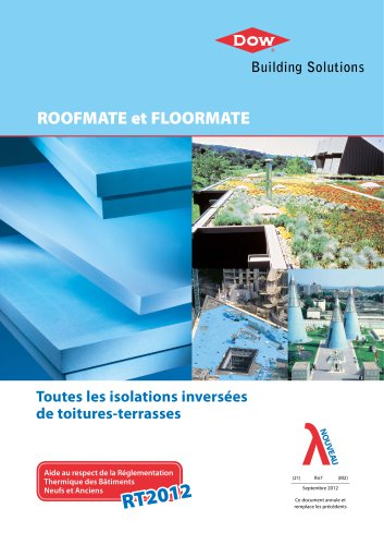 Toutes les isolations inversées de toitures-terrasses
