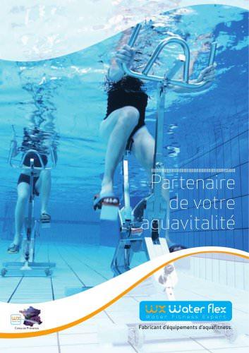 Appareils d'aquafitness WATERFLEX collection 2012