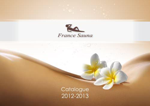 Cabines de saunas FRANCE SAUNA collection 2013