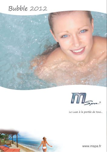 Catalogue spa gonflable MSpa 2012