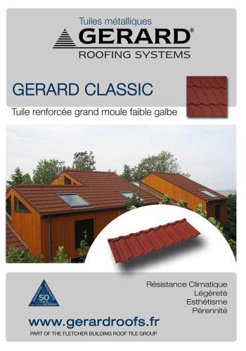 Brochure AHI Tuiles GERARD CLASSIC