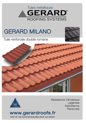 Brochure AHI Tuiles GERARD MILANO