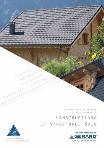 Brochure GERARD Constructions Bois