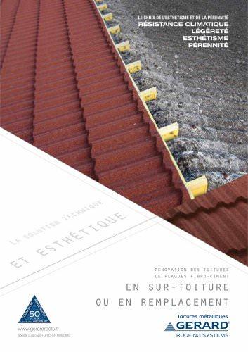 Brochure GERARD Rénovation Fibro-ciment