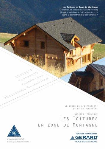 Dossier Toitures GERARD en Montagne