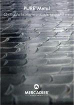 Mercadier - Nuancier PURE Metal - Métallisation