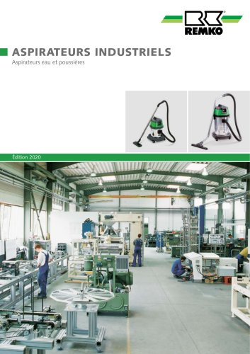Aspirateurs industriels