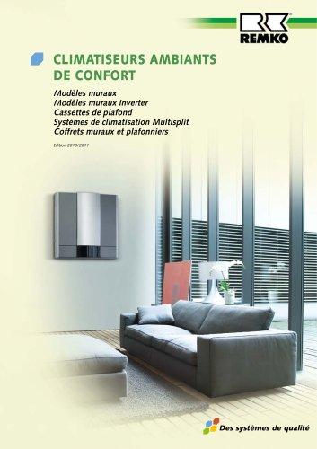 Climatiseurs ambiants de confort 2010-11