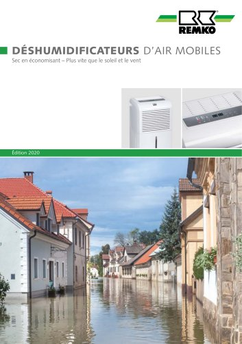 Deshumidificateurs d air mobiles