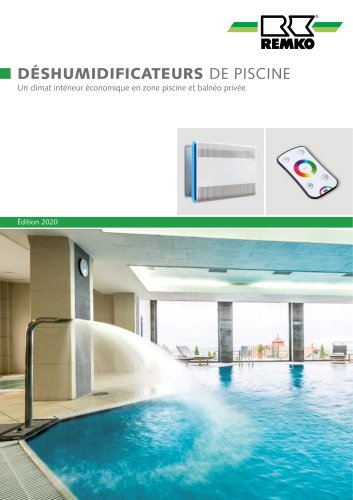 Deshumidificateurs de piscine