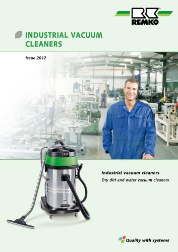 INDUSTRIAL VACUUM CLEANERS 2012-13
