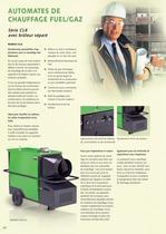 Systèmes de chauffage à air chaud mobiles 2010-2011 - 10