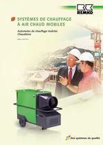 Systèmes de chauffage à air chaud mobiles 2010-2011 - 1