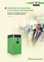 Systèmes de chauffage à air chaud stationnaires 2010-11 - 1