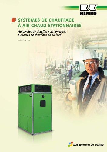 Systèmes de chauffage à air chaud stationnaires 2010-11