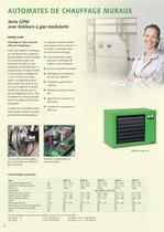 Systèmes de chauffage à air chaud stationnaires 2010-11 - 4