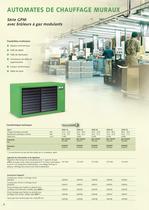 Systèmes de chauffage à air chaud stationnaires 2010-11 - 6