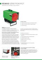 Systemes de chauffage a air chaude mobiles - 12