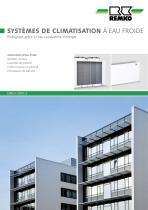 Systemes de climatisation a eau froide - 1