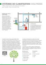 Systemes de climatisation a eau froide - 4