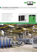 Systems de chauffage a air chaud stationnaires - 1