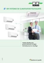 VRF SYSTÈMES DE CLIMATISATION POLYVALENTS 2013 - 1