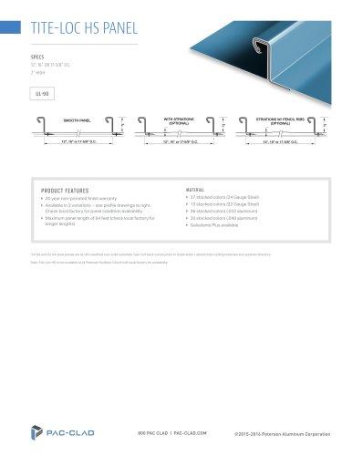 Tite-Loc HS Panel