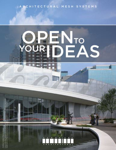 Cambridge - Open To Your Ideas Brochure