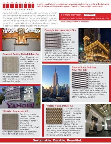 Elevator Interior Design 2018