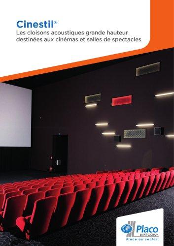Cinestil® - Les cloisons acoustiques grande hauteur