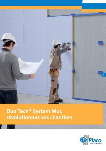 Duo'Tech® System Mur, Révolutionnez vos chantiers