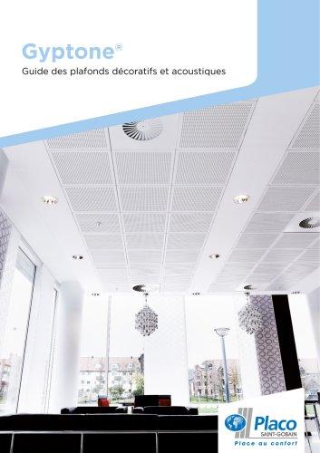 Guide des plafonds décoratifs et acoustiques Gyptone®