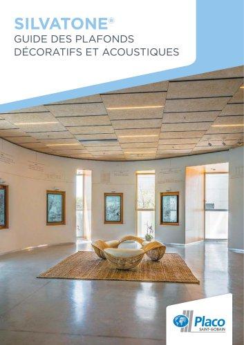 Guide des plafonds décoratifs et acoustiques Silvatone®
