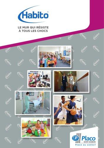 Habito® non-résidentiel, la plaque la plus résistante du marché