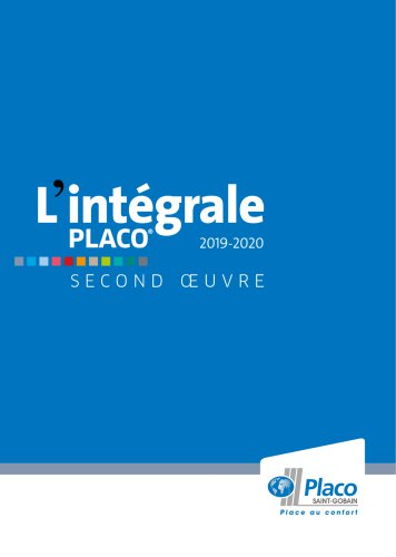 L'intégral Placo® 2019-2020 - Second Oeuvre