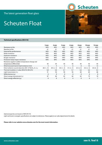 Scheuten Float