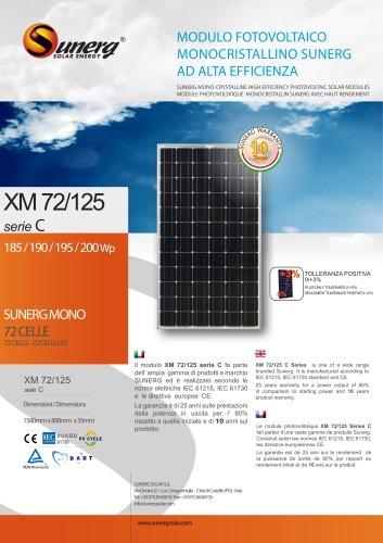 XM 72/125C