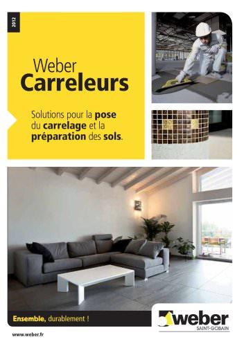 POSE DU CARRELAGE : Weber carreleurs