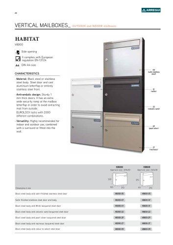 Habitat vertical V8000
