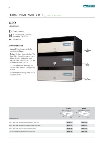 NEO H8500/H8600