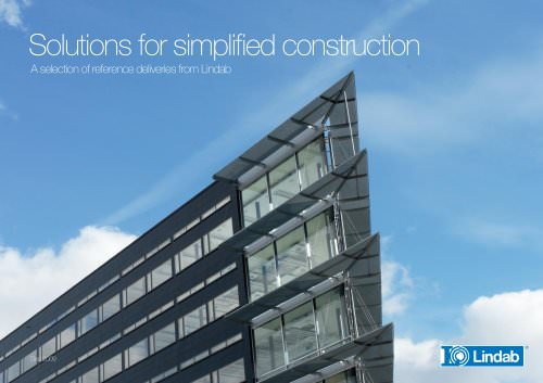 Solutions for simplified construction