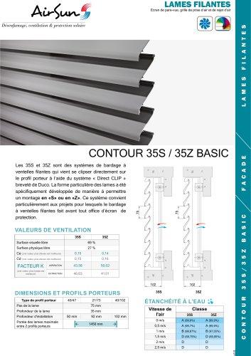 CONTOUR 35S / 35Z BASIC
