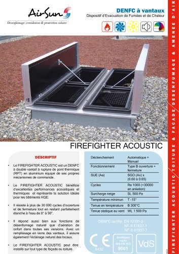 FIREFIGHTER ACOUSTIC