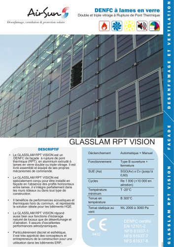 GLASSLAM RPT VISION