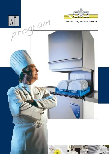 AT 2009  Hood type dishwashers