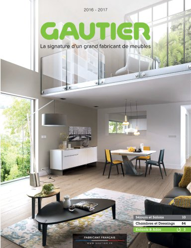 Catalogue 2016 2017 Gautier Catalogue Pdf Documentation Brochure